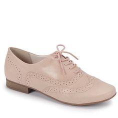 Sapato Oxford Feminino Bottero - Bege Mais