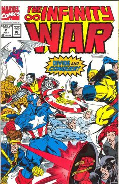 Infinity War # 2 by Ron Lim & Al Milgrom