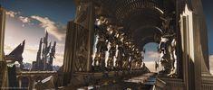 The Eternal Realm of Asgard. Dr Marvel, Marvel Films, Thor, Apocalypse, Games Design, Loki Aesthetic, Night Aesthetic, Asgard, My Fantasy World