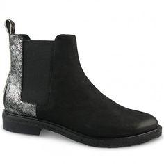 Wittner Harriette Boot Black Leather