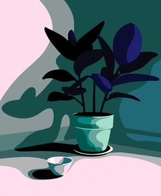 Mathilde CRETIER, Illustrations for the Virginie agency Art And Illustration, Animal Illustrations, Illustrations Posters, Painting Inspiration, Art Inspo, Minimal Art, Kunst Inspo, Art Watercolor, New Art