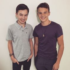 Gavin MacIntosh & Hayden Byerly