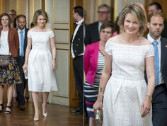"""Queen Mathilde of Belgium presented the 2016 """"Queen Mathilde Prize"""" in a ceremony held at the Royal Palace in Brussels. The winner of this year's award was the """"Ecole de Devoirs Assisa"""" from Liege. Assisa is a homework project for young people who are living in vulnerable situations. They are being tutored daily by other youngsters who in turn get the support of social science students."""