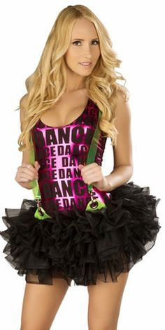 Sexy Fluffy Suspender Petticoat