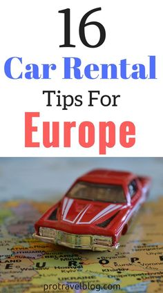 When you rent a car in Europe you need to protect yourself! Here's 16 tips to…