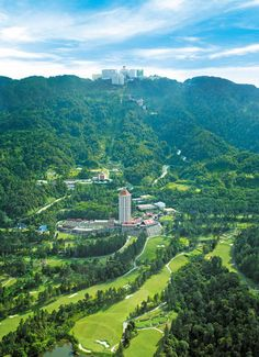 Awana Genting Highlands Golf And Country Resort is located 3000 feet above sea level amidst Malaysia's largest and oldest mountain range. Rooms as low as $97 per night!
