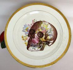 Midwinter Stylecraft Floral Bouquet Vintage Cake Plate / Sandwich ...