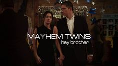 Person of Interest | Mayhem Twins | Hey Brother