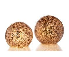 Tafellamp Wangi Round, goud