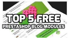 Blog is very important entity of ecommerce websites like PrestaShop, Magneto, Drupal etc. It has following advantage for shopping sites;   Increased traffic on store  High Alexa  High Page and Domain Authority  Strong internal Backlinks  Boost in ranks  For example,   #blog modules #free blog modules #Free PrestaShop blog #wordpress prestashop integration