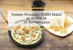 Pocket-friendly COMBO MEALS await at #GOITALIA in Koramangala. Add: No 36, next to Panasonic Building, 8th Main Road, Koramangala 4th Block, Bangalore. Contact: 080-41515858 #Food #Restaurants #NonVeg #Italian #GOITALIA #CityShorBengaluru