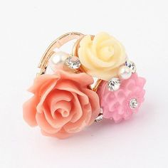 GET $50 NOW   Join RoseGal: Get YOUR $50 NOW!http://www.rosegal.com/rings/sweet-rhinestone-decorated-colored-flower-55470.html?seid=6840551rg55470