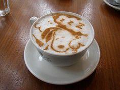 Snoopy coffee.