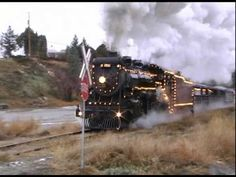 CP 3716 and The Kettle Valley Steam Railway Christmas Train http://youtu.be/ActIkLSW20Y