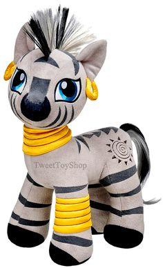 NEW Build a Bear ZECORA Zebra 15 inch MLP My Little Pony Ponies Friend Stuffed Plush Toy NWT In Stock Now at http://www.bonanza.com/listings/Build-a-Bear-Zecora-Zebra-15-in-MLP-My-Little-Pony-Stuffed-Plush-Toy-Animal-NWT/185176703