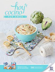 Campaña Ideas para consentir Nestlé, dip de alcachofas. Fotografía: Esteban Brocos