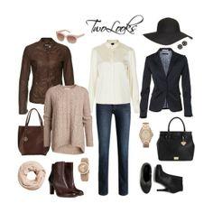 Two looks, autumn fashion