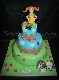 Pippi pippi pippi Pipi Longstocking  Cake by BarbaraInSweetland