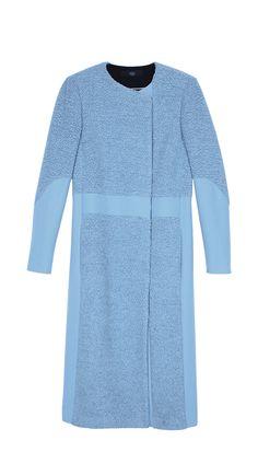 Tibi's Panda Long Coat.