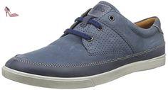 Ecco  ECCO COLLIN, Derby homme - Bleu - Blau (MARINE/DENIM BLUE50638), 43 - Chaussures ecco (*Partner-Link)