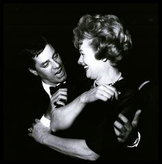 Jerry Lewis and Lucille Ball