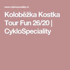 Koloběžka Kostka Tour Fun 26/20 | CykloSpeciality
