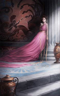"Next one in my princess series: ""Megara""  WEB | SHOP | ARTBOOK | FB"