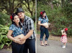 Rockabilly Maternity (Minerva Photography)