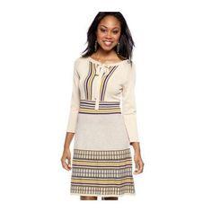 Nine West Dress Sweater Dress  #Beso #Dresses #Fashion