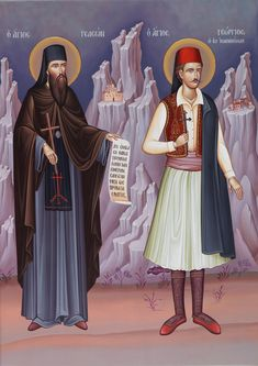 Full of Grace and Truth: St. Gideon the New Righteous Martyr of Karakallou Holy Thursday, Neo, Heaven Sent, Catholic Saints, Orthodox Icons, He Is Able, 12 Year Old, Christian Faith, Angels