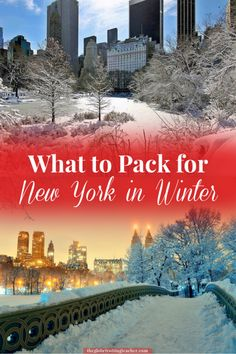 What to Wear in New York in Winter - Planning a winter or Christmas in New York trip? NYC can get pretty cold! Use this guide for what to pack for NYC in December, January, February. Make sure you have what you need for an unforgettable trip to New York City no matter when you visit! #travel #NYC #packinglist New York City Vacation, Visit New York City, New York City Travel, New York Winter, Winter In Nyc, Nyc Fall, Barbados, New York Trip Planning, New York Noel