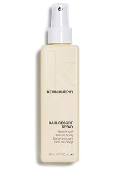 "HAIR.RESORT.SPRAY  Get ""a day at the beach hair"" with this fragrant volumising beach hair spray. Honey, Citrus and Tangerine make this spray essential for messy, sexy surfer girls and boys."