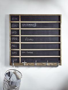 NEW Weekdays Chalkboard - Indoor Living