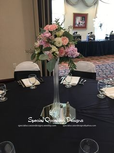 eiffel tower vase wedding centerpieces | ... Eye catching tall ...