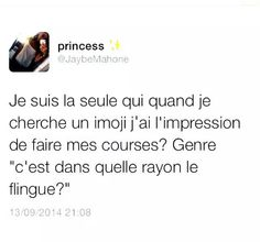nan t' inquiete ... Bff Quotes, Funny Quotes, Funny Memes, Jokes, Best Tweets, Funny Tweets, Lol, Funny French, Grave
