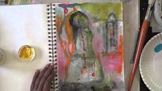 art journal page aug 30 2013 -mystele