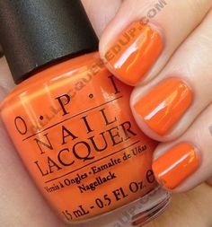OPI On The Same Paige | #EssentialBeautySwatches | BeautyBay.com Reminds me of pumpkins and fall..
