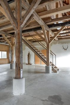 hotel arquitectura Scheune Aicha referraL D - hotel Industrial Architecture, Architecture Design, Barn Loft, Dordogne, Rustic Interiors, My Dream Home, Interior And Exterior, New Homes, Sweet