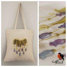 Painted shopping bag :) If you like/want it: https://www.facebook.com/GuzikPrawda.handmade