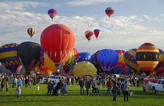 2016 Balloon Fiesta - ABQ, NM. 'Lift Off'