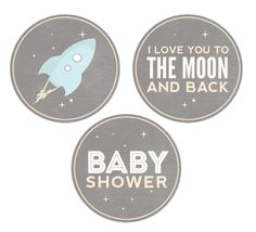 Outer Space Baby Shower Invitation - Space Baby Shower - Grey - Dwell Studio Galaxy Inspired by SugarPinkDesigns on Etsy https://www.etsy.com/listing/237797400/outer-space-baby-shower-invitation-space