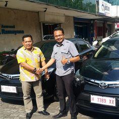 Serah terima 2 unit Toyota All New Vios atas nama PT. Asuransi Ramayana Semarang. Dealer Toyota Nasmoco Semarang Demak Purwodadi Kendal Ungaran www.toyotasemarang.com