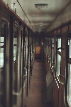 Train Interior in Romania
