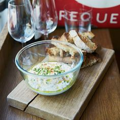 Creamy Cheese and Green Herb Spread | Food & Wine goes way beyond mere eating and drinking. We're on a mission to find the most exciting places, new experiences, emerging trends and sensations.