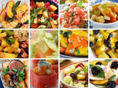12 Savory Fruit Salad Recipes to Switch Up Your Summer Potluck Recipes, Summer Recipes, Diet Recipes, Healthy Recipes, Recipies, Fruit Salad Recipes, Watermelon Recipes, Fruit Salads, Grapefruit Recipes