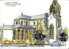 Moélan sur Mer - Eglise Saint-Melaine - 24 10 2016