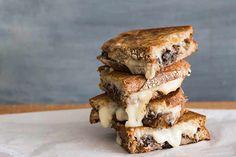 Taleggio cheese toastie with mushroom recipe, Bite – visit Bite for New Zealand recipes using local ingredients – bite.co.nz