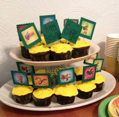 Legend Of Zelda Cupcake Toppers So Easy For When You Cant Find Your Childs Party Theme
