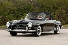 1959 Mercedes Benz #190SL #convertible; sold for $198,000.00 at the Scottsdale 2014 auction. Source: http://www.barrett-jackson.com/Archive/Event/Item/1959-MERCEDES-BENZ-190SL-CONVERTIBLE-161308. For all your Mercedes Benz #190SL restoration needs please visit us at http://www.bruceadams190sl.com. #BruceAdams190SL.