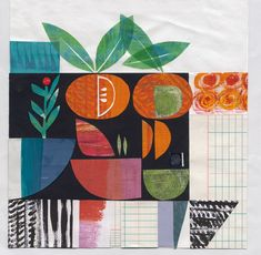 Learn the secrets of making a great collage, from composition and layering to using colour and repetition. Shape Collage, Paper Collage Art, Flower Collage, Collage Drawing, Collage Design, Paper Artwork, Flower Art, Art Collages, Collage Ideas